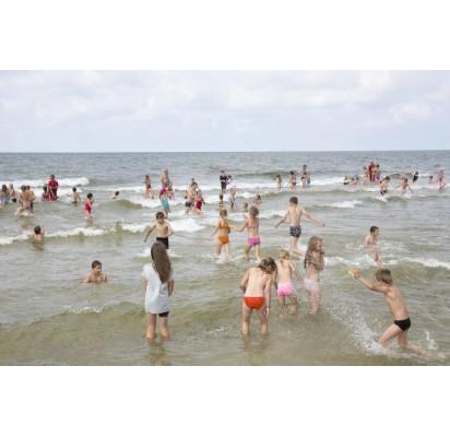 Vaikų svajonė pamatyti jūrą išpildyta būrio palangiškių dėka