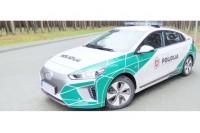 Palangoje – naujas policijos elektromobilis su įmontuota eismo stebėjimo sistema
