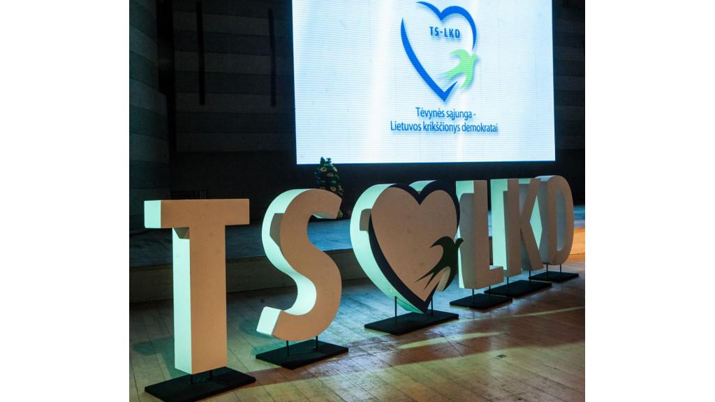 TS-LKD suvažiavime dalyvaus palangiškiai konservatoriai Šarūnas Vaitkus, Petras Kaminskas ir Inga Šileikienė