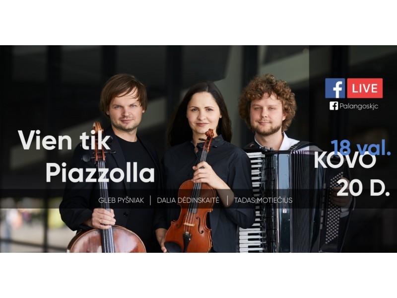 Muzikos vakarai Kurhauze nukels į Paryžių, Niujorką ir Buenos Airės. Koncertas skirtas A. Piazzolla 100-mečiui