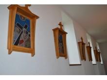 Palangiškės menininkės Gražinos Oškinytės-Eimanavičienės kurtos stacijos.