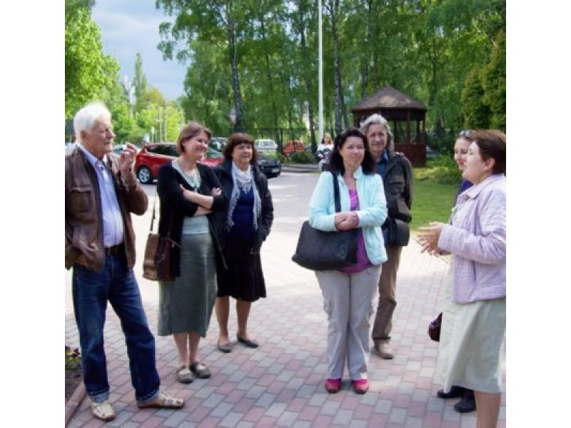 Dar metų pradžioje planuota Palangos kraštovaizdžio bičiulių klubo ekskursija į Kaliningrado srities Svetlogorsko kurortą nebuvo atsitiktinė.