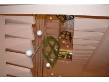 Į viršų kylantys langai Palangos reabilitacijos ligoninėje.