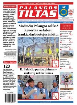 Palangos tilto laikraštis, Data: 2019-01-19, Numeris: 3 (1678)