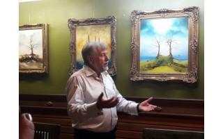 """""""Laiko atspindžiai"""" – dailininko Vytauto Kuso septyniasdešimtmetį vainikuojantis parodų ciklas"""