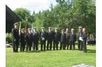 Palangos šauliai pagerbė paskutiniojo partizano Prano Končiaus atminimą