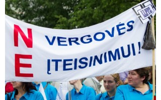 Naujasis darbo kodeksas: protestuotojai pasiekė savo