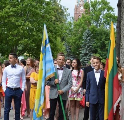 Iš 163 liepos 11-ąją vidurinio mokslo atestatus gavusių Senosios gimnazijos abiturientų 131 sieks auštojo mokslo diplomų.