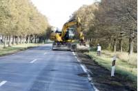 Prasidėjo kelio Klaipėda- Palanga remontas