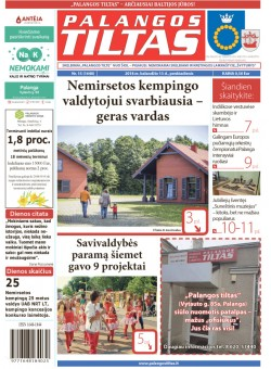 Palangos tilto laikraštis, Data: 2018-04-12, Numeris: 15(1640)