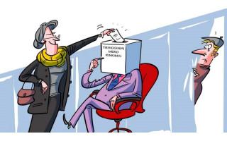 """Palangos meras Šarūnas Vaitkus: """"Yra du keliai po Konstitucinio teismo sprendimo: arba Seimas inicijuoja Konstitucijos pataisas ir per jas įtvirtina tiesioginius mero rinkimus, arba tam pasitelkiamas referendumas"""""""