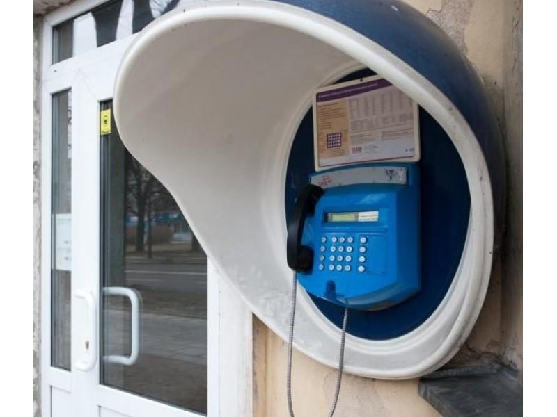 Palangoje septyni esantys taksofonai skaičiuoja savo paskutines dienas