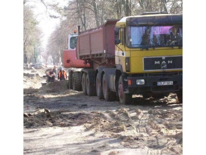 Palangos Kęstučio gatvėje – intensyvūs rekonstrukcijos darbai