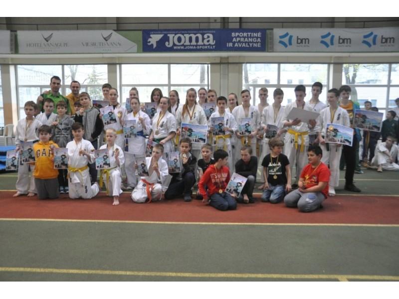 Palangiškių medalių lietus Vilniaus čempionate