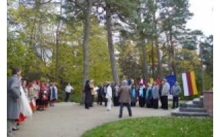Ant Birutės kalno – lietuviškos ir latviškos dainos