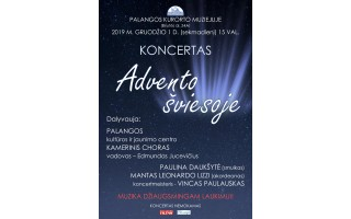 """Kurorto muziejus kviečia į koncertą """"Advento šviesoje"""""""