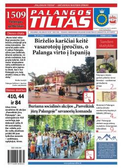 Palangos tilto laikraštis, Data: 2019-07-05, Numeris: 26 (1701)