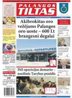 Palangos tilto laikraštis, Data: 2013-02-04, Numeris: 10 (1151)