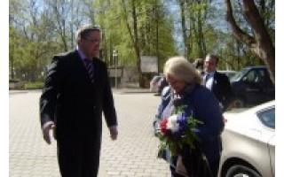 Palangoje viešėjo Prancūzijos ambasadorė M. Berniau