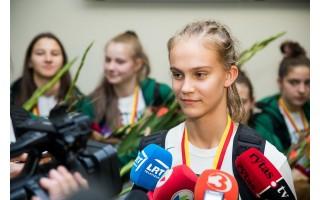 Trylikametės palangiškės Justės Jocytės įvertinimas – kvietimas į Lietuvos moterų rinktinę
