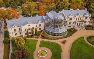 Buvusiuose Tiškevičių dvaro rūmuose veikiančio Kretingos muziejaus oranžeriją ketinama atnaujinti, pritaikant ją ir ligoniams iš Palangos
