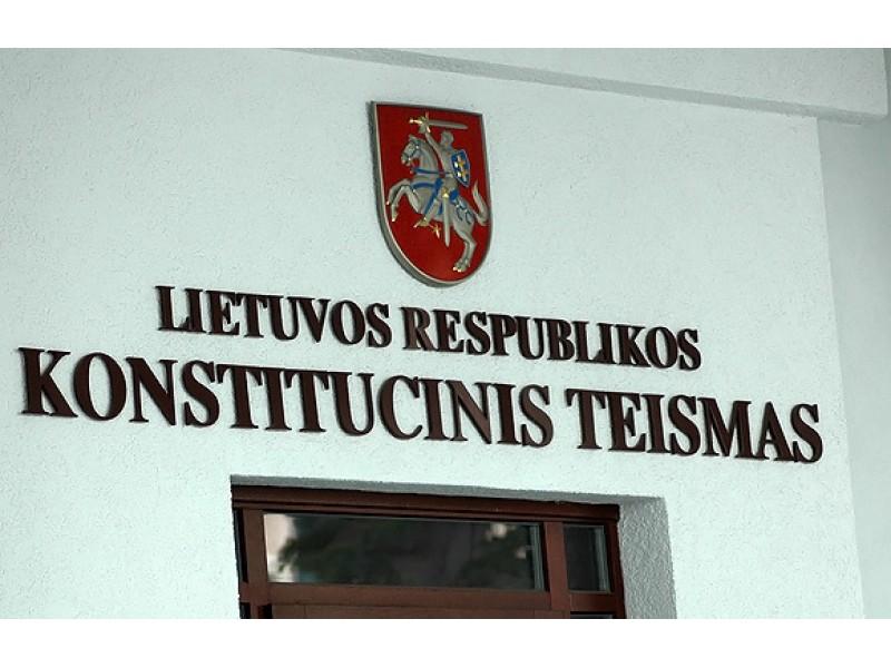 Konstitucinis teismas sujaukė ir Palangos politikų planus