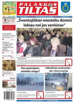 Palangos tilto laikraštis, Data: 2011-12-19, Numeris: 97 (1041)