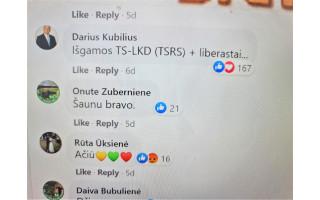 """TS-LKD """"išgamomis"""" ir """"TSRS"""" išvadinęs Palangos miesto savivaldybės Tarybos Etikos komisijos pirmininkas Darius Kubilius iš pareigų pats nesitrauks"""