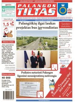 Palangos tilto laikraštis, Data: 2017-12-08, Numeris: 90(1621)