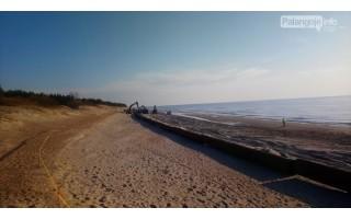 Palangos paplūdimiai vasarą pasitiks storesniu smėlio paklotu