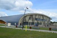 Palangos universalioji sporto arena – pavyzdys ir užsienio partneriams