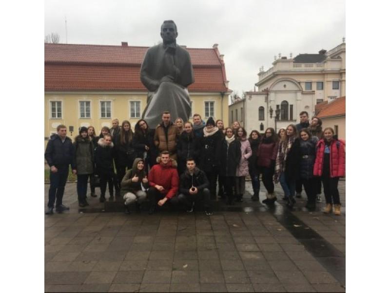 Gimnazistų literatūrinė kelionė į Kauną
