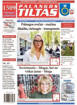 Palangos tilto laikraštis, Data: 2017-08-07, Numeris: 56(1587)