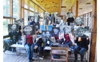 """Fotomenininkai Palangoje kūrė """"Pajūrio portretus"""""""