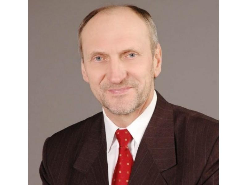 """UAB """"Palangos vandenys"""" direktorius Pranas Madzajus."""