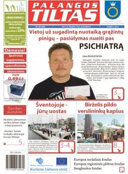 Palangos tilto laikraštis, Data: 2011-06-13, Numeris: 46 (990)