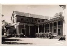 """Casino"" (Kurhauzo) senoji dalis, 1930 m. Fotografas A. Stropus. Iš ""Lietuva senose fotografijose""."