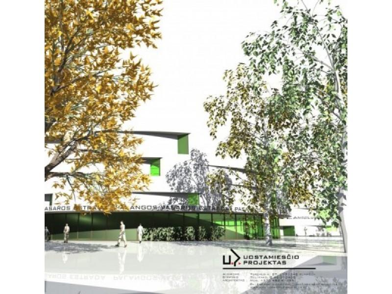 Palangos vasaros estrados rekonstrukcijos projektiniai pasiūlymai.