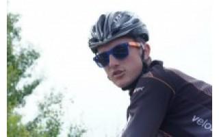 """""""Pasibalnojęs"""" dviratį gimnazijos abiturientas garsina Palangą"""