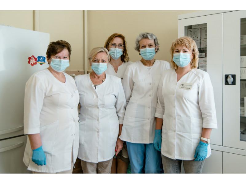 Miesto poliklinikoje skiepija rūpestingos bendrosios praktikos slaugytojos