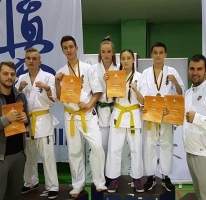 Palangiškių startas Lietuvos karatė kiokušin jaunučių žaidynių finale