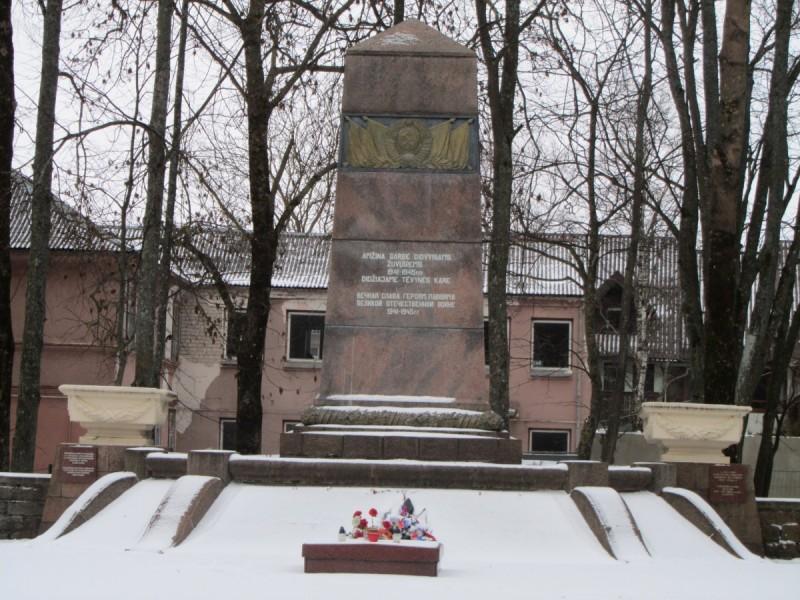 Praėjo beveik 74 metai, kai miesto centre buvo palaidoti rusų kariai.