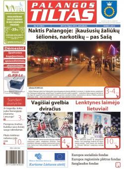 Palangos tilto laikraštis, Data: 2011-07-25, Numeris: 57 (1001)