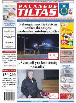 Palangos tilto laikraštis, Data: 2014-12-08, Numeris: 93(1331)