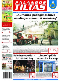 Palangos tilto laikraštis, Data: 2011-11-17, Numeris: 88 (1032)