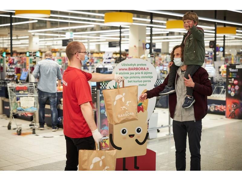 """""""Barbora Express"""" didina asortimentą: Palangos gyventojai galės rinktis iš 7 kartus daugiau prekių"""