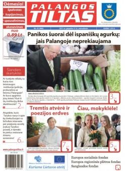 Palangos tilto laikraštis, Data: 2011-05-30, Numeris: 42 (986)