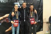Iš Europos čempionato – su bronzos medaliu