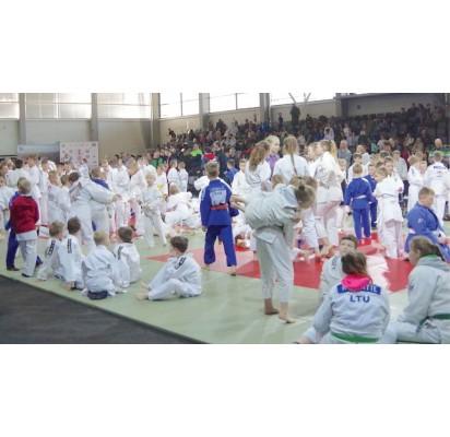 Palangiškių dziudo sportininkų startai Prienuose