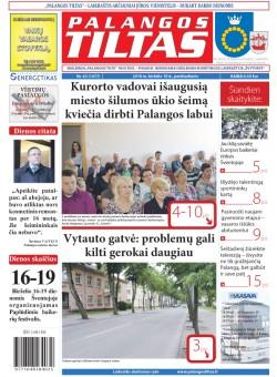 Palangos tilto laikraštis, Data: 2016-06-09, Numeris: 43(1477)